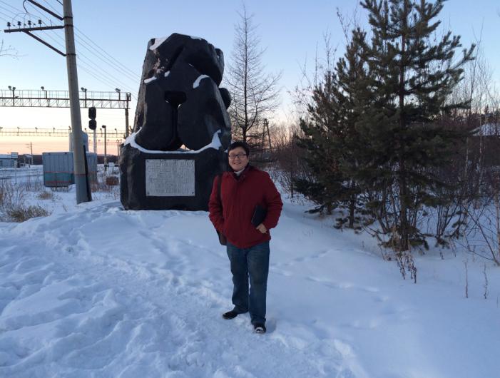 coal statue